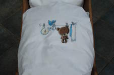 Makerist - Baby-Bettwäsche 'Teddybär' - 1