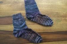 "Makerist - Socken ""Disco"" - 1"