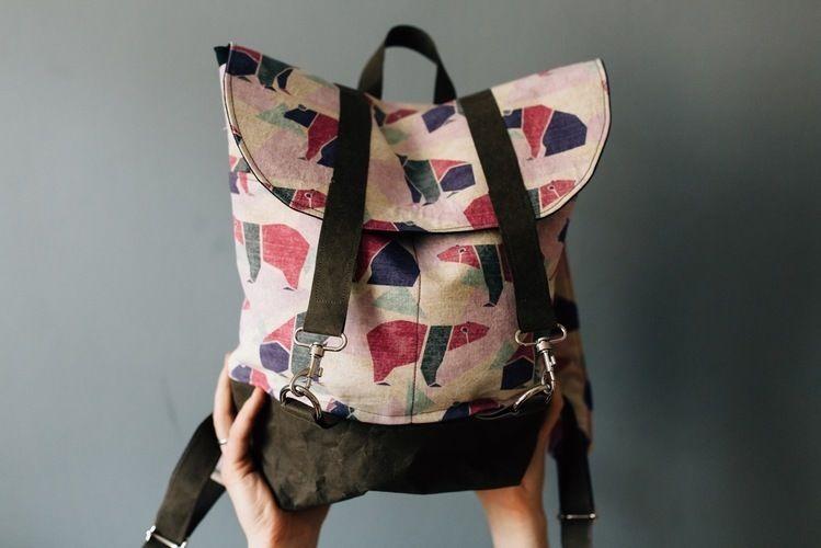 Makerist - rucksack pakke von kreativlabor berlin.  - Nähprojekte - 1