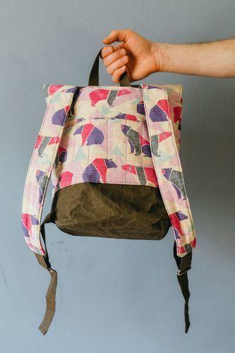 Makerist - rucksack pakke von kreativlabor berlin.  - Nähprojekte - 3