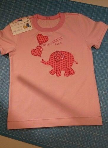 Makerist - wie ein kleiner rosa  Elephant auf ein T-Shirt kommt...  - Nähprojekte - 1