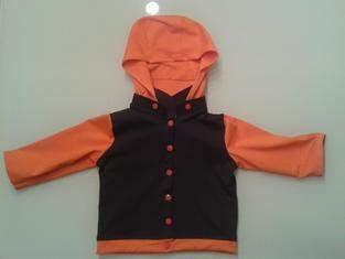 Makerist - Jerseyjacke Größe 80 Kapuze abnehmbar - 1