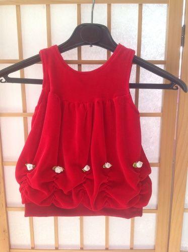 Makerist - Babykleid aus Nicky mit Röschen verziert - Nähprojekte - 1