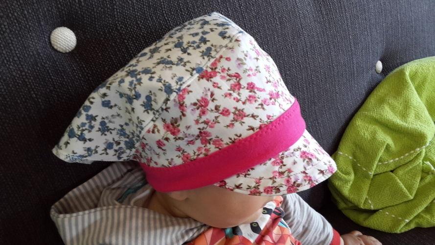 Makerist - Mädels Kopftuch, selbst konzipiert - Nähprojekte - 1