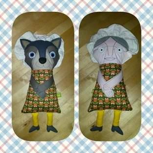 Großmutter und Wolf - Eine tolle Idee! 2. Foto auch ansehen!