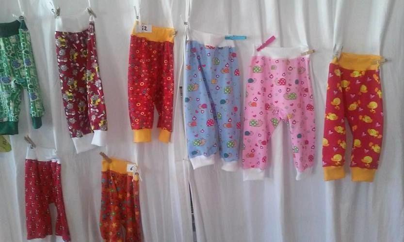 Makerist - Babyhose aus Jerseystoff mit Bündchen - Nähprojekte - 2