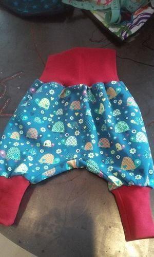 Makerist - Babyhose aus Jerseystoff mit Bündchen - Nähprojekte - 3