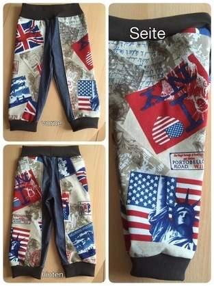 "Makerist - Jeans-Hose ,,l Love New York"".  Kinderjeans Grösse 86  - 1"