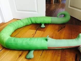 Makerist - Bettrolle Krokodil Karlchen - 1