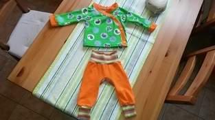 Makerist - Baby Wickel Jäckchen und Monkey Pants - 1