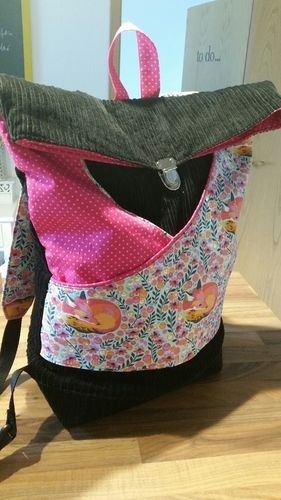 Makerist - Rucksack aus Cord - Nähprojekte - 1