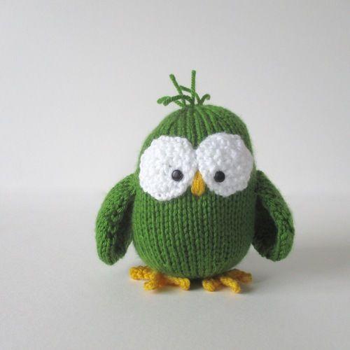 Makerist - Allsorts Owl - Knitting Showcase - 1