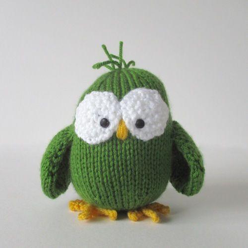 Makerist - Allsorts Owl - Knitting Showcase - 2