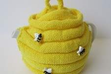 Makerist - Beehive Tea Cosy - 1