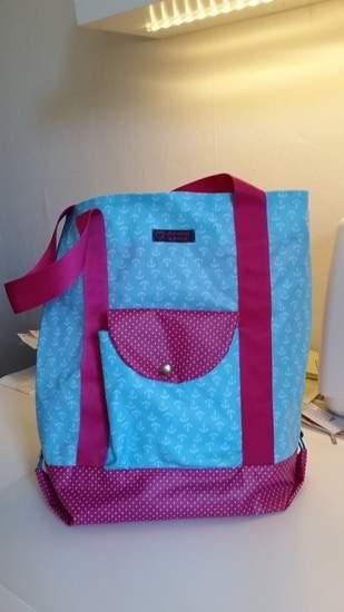 Einkaufstasche aus beschichteter Baumwolle