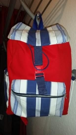 Makerist - maritimer Rucksack - 1