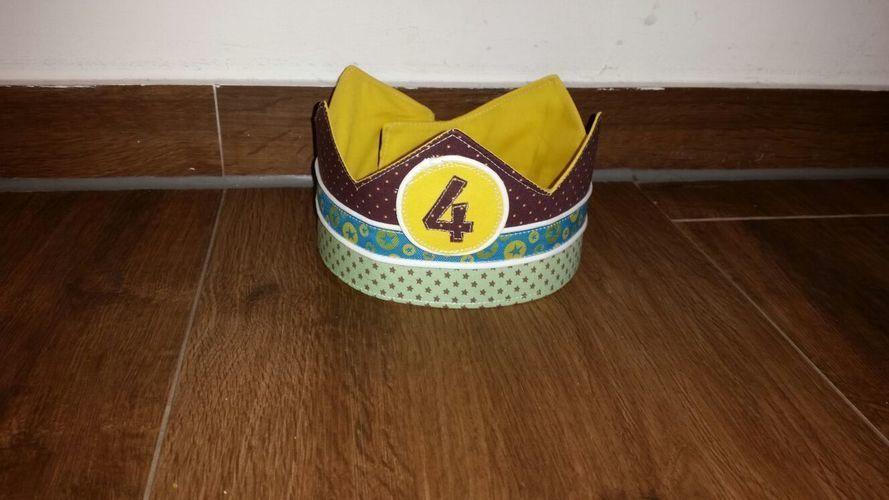 Makerist - Krone für das Geburtstagskind - Nähprojekte - 1