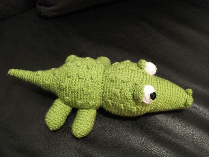 Makerist - Krokodil - Häkelprojekte - 2