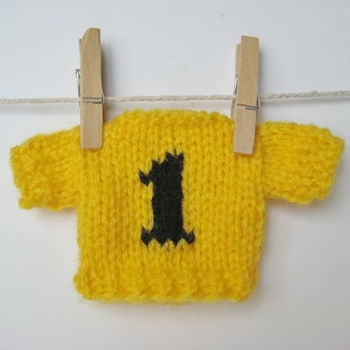 Makerist - Yellow Jersey - Knitting Showcase - 1