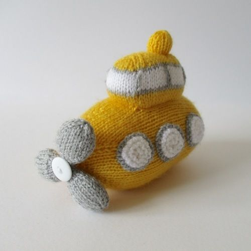 Makerist - Whirly Submarine - Knitting Showcase - 2