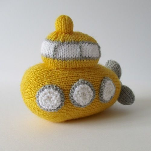Makerist - Whirly Submarine - Knitting Showcase - 3
