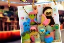 Makerist - Immer in Runden gehäkelt: viele, viele Figuren aus Restwolle :) - 1