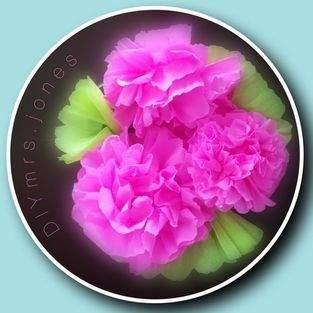 Makerist - Blumen aus Krepppapier, als Frühlingsboten. - 1