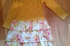 Makerist - Gelbes Blumenkleid - 1
