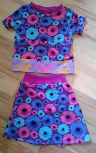 Makerist - Rock mit Shirt statt Kleid - 1