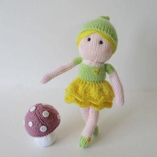 Makerist - Buttercup Fairy - Knitting Showcase - 1