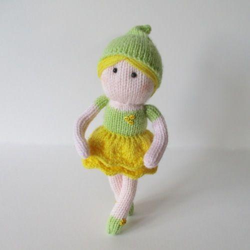 Makerist - Buttercup Fairy - Knitting Showcase - 2