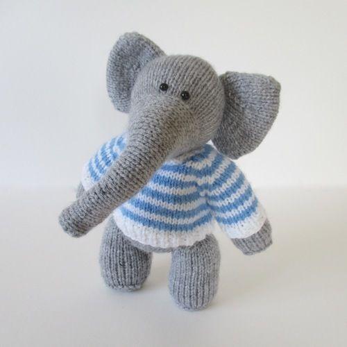 Makerist - Wellington the Elephant - Knitting Showcase - 2