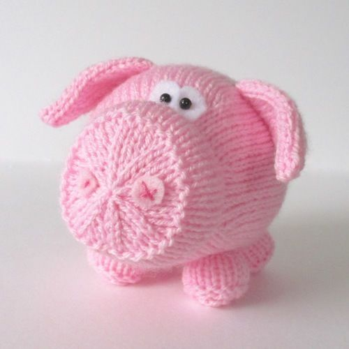 Makerist - Twiglet the Piglet - Knitting Showcase - 2