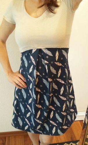 Makerist - Valery... mal ein Kleid für mich :-) - Nähprojekte - 2