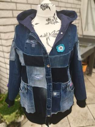Makerist - Upcycling Jacke Big Lady Bella - 1