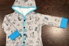 Makerist - Eulen-Hoody-Jacke, für meinen kleinen Sonnenschein - 1