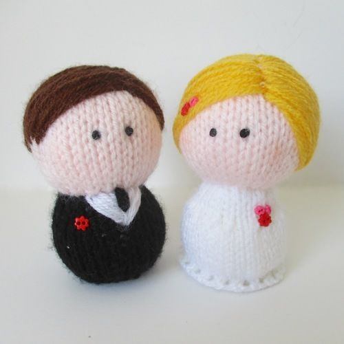 Makerist - Bride and Groom - Knitting Showcase - 1