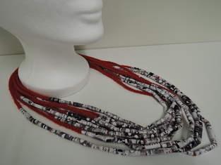 Makerist - Papier-Perlen-Kette - 1