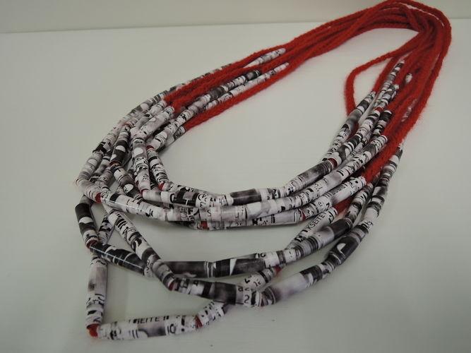 Makerist - Papier-Perlen-Kette - Häkelprojekte - 2