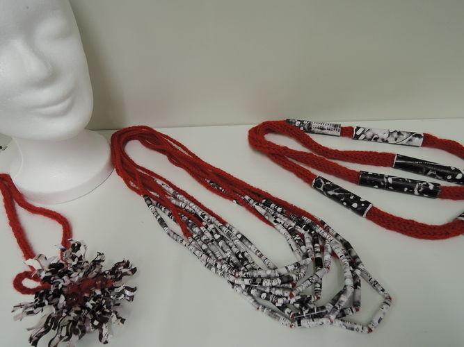 Makerist - Papier-Perlen-Kette - Häkelprojekte - 3