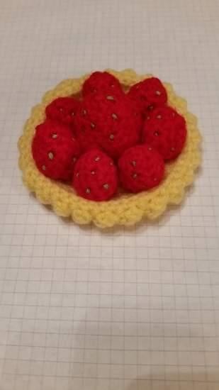 Makerist - Erdbeer Tortelett / Erdbeertörtchen - 1