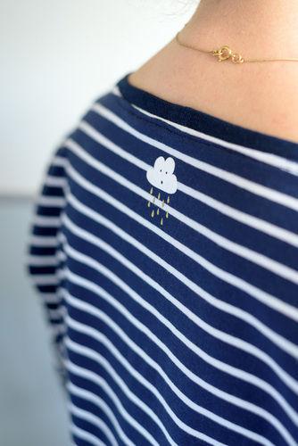 Makerist - Streifenshirt mit Liebe – auch für schlechtes Wetter - Nähprojekte - 1