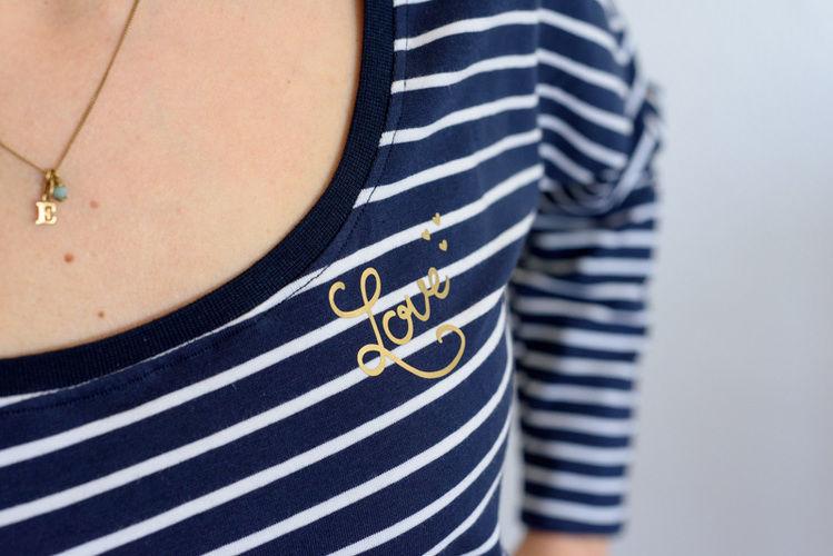 Makerist - Streifenshirt mit Liebe – auch für schlechtes Wetter - Nähprojekte - 2