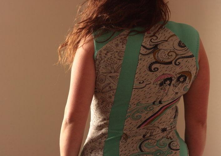 Makerist - Mintfarbener Herbst für den Sommer - Nähprojekte - 1