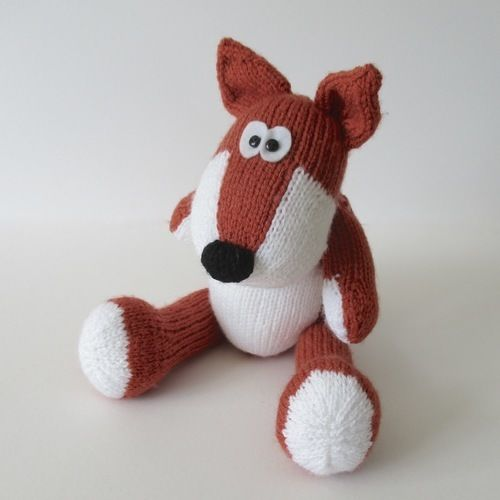 Makerist - Benjamin Badger and Freddie Fox - Knitting Showcase - 2