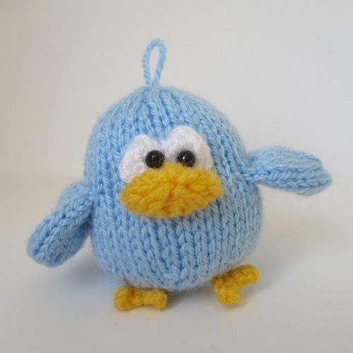 Makerist - Benjy the Bluebird - Knitting Showcase - 1