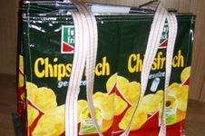 "Makerist - Recycling- Taschen ""Chips"" - 1"