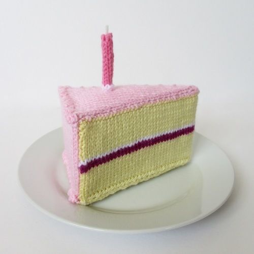 Makerist - Birthday Cake - Knitting Showcase - 1