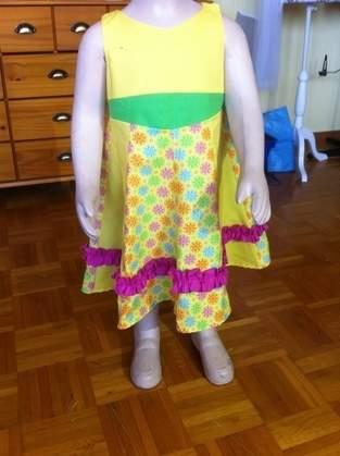 Makerist - sommerprinzessin Gr. 110  für meine Enkelin - 1