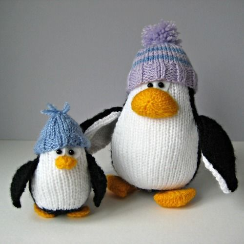 Makerist - Bobble and Bubble Penguins - Knitting Showcase - 1
